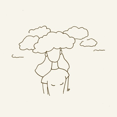 illustratie wolken