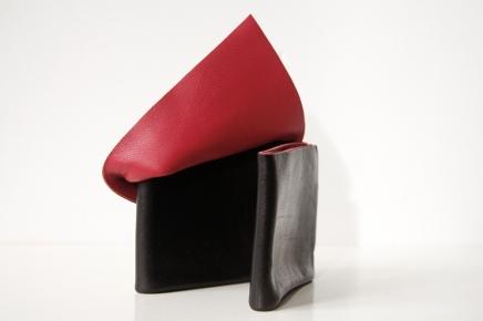 Portemonnee 2 rood zwart 03