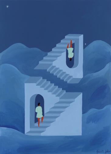 Different ways to climb Print petit