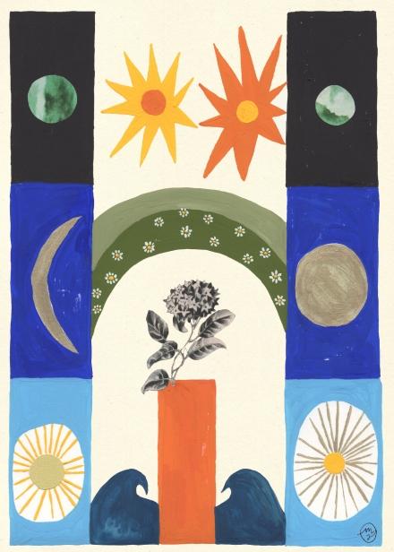 The Moon, The Sun, The Earth Web