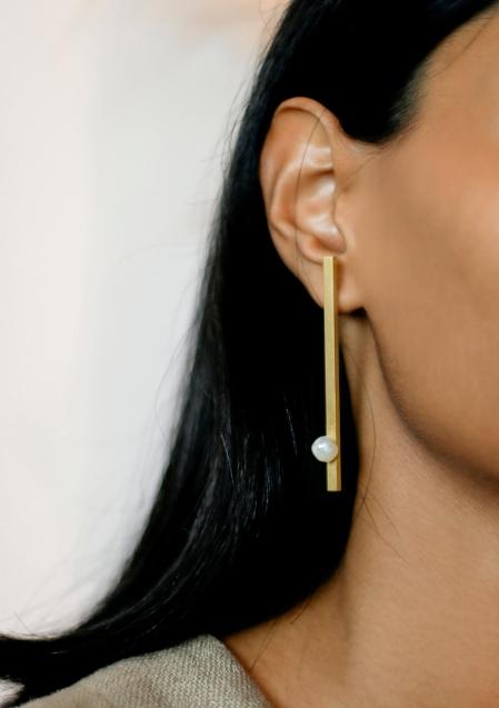 Anna Rosa Pearl Earring