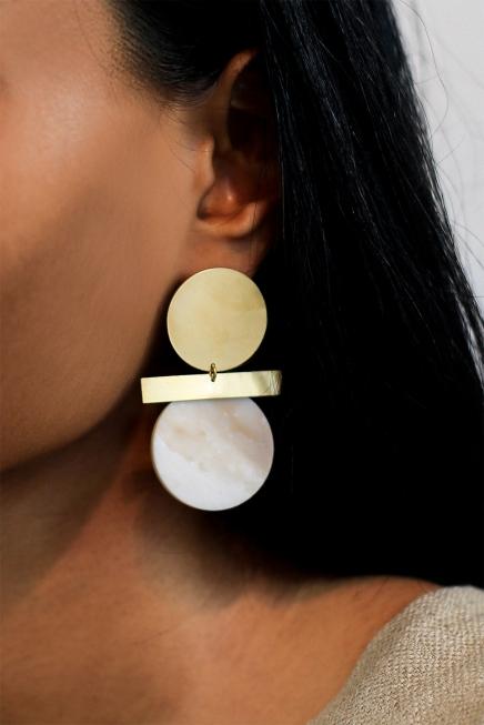Anna Rosa Relic Spirit Earrings