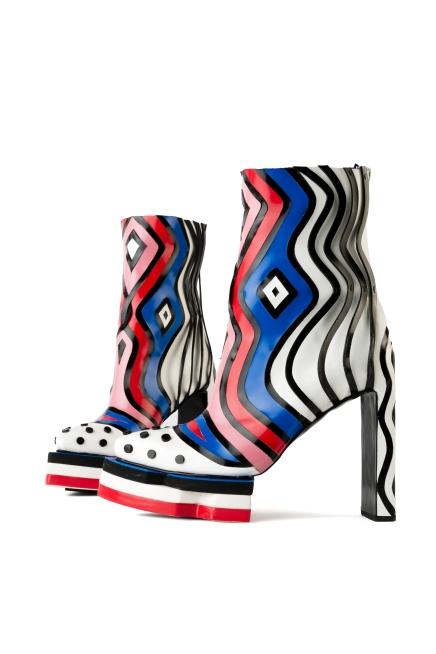 SASK Design Shoes for Virtual Shoe Museum